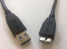 USB 3.0 Micro B Kabel Ladekabel Datenkabel Stecker A Anschlusskabel 0,5 m AWM