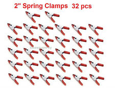 Spring metal Clamps lot of 32 2'' clamp with PVC Cushion Coated Grip Handle new