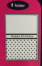 Crafts-Too/CTFD3007/C6/Embossing /Folder/Happy Birthday