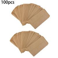 100Pcs Paper Bag Seed Envelopes Mini Packet Envelopes Garden Storage Bags