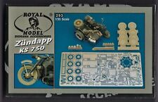 ROYAL MODEL 293 - ZUNDAPP KS 750 CONVERSION SET - 1/35 RESIN KIT