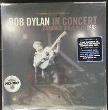 BOB DYLAN in CONCERT-BRANDEIS UNIVERSITY 1963-2011 VINYL LP-BRAND NEW & SEALED