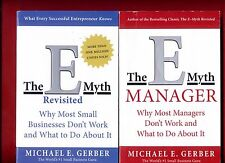 2 books by Michael Gerber: E-Myth Revisited & The E-Myth Mastery - Free Shipping