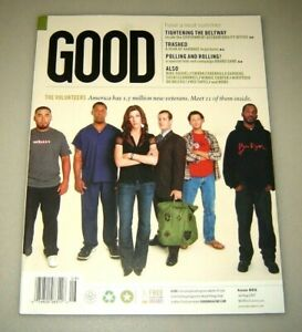 GOOD magazine #5 July/Aug 2007 education,urban planning,design,politics,culture