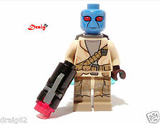 LEGO Star Wars - Rebel Trooper with Jet Pack - Blue Face - *NEW* from set 75133