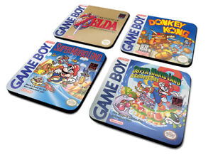 GAMEBOY (CLASSIC COLLECTION) COASTER SET *FAST UK DISPATCH*