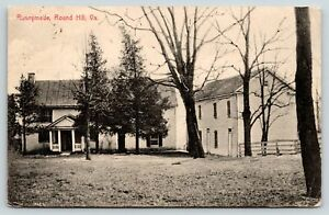 Round Hill Virginia~Runnymede Farm~Yatton Road~Where We are Stopping~1913 B&W PC