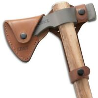 Columbia River Knife & Tool D2730 Chogan Woods T-Hawk Sheath Tan Leather