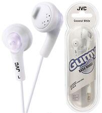 JVC HA-F160 COCONUT WHITE Gumy Earphones High Quality Original / Brand New