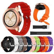 Wrist Strap Sport Rubber Silicone Watch Band for Samsung Galaxy 46/42MM SM-R810