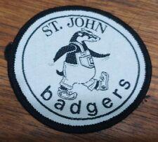 St John Ambulance - Badger badges / patches.