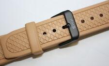 KHS Tactical Watches Ersatzbänder Diverband Taucherarmband Silikonarmband 22 mm