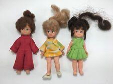 "Vintage Uneeda Doll Lot Hair Grows 5"""