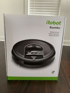 iRobot Roomba i7 7150 Robot Vacuum Wi-Fi Smart Mapping Ideal for Pet Hair