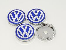 4 x VOLKSWAGEN ALLOY WHEEL CENTRE HUB CAPS 60 MM Passat Golf Lupo MK4 MK5 JETTA