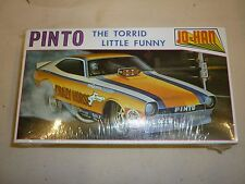 JO-HAN factory sealed  Un Made plastic kit of an PINTO Funny car,  boxed