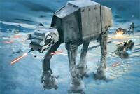 """Star Wars AT-AT Attack -  Maxi Poster 24"""" x 36"""""""