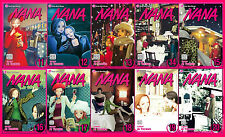 Nana EXPLICIT MANGA Series by Allison Wolfe and Ai Yazawa Set Books 11-20!