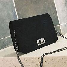 Women Retro Velvet Mini Shoulder Bag Messenger Cross Body Bags Handbag Chain Lot
