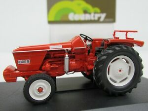 OFFICIAL UNIVERSAL HOBBIES, RENAULT 56 1968 TRACTOR, 1:43 Scale FARM MODEL #6025