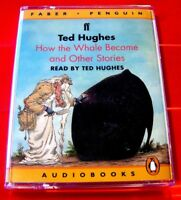 Ted Hughes Reads How The Whale Became &Other Creation Stories 2-Tape UNAB.Audio