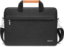 NIDOO 14 Inch Laptop Briefcase Carrying Bag Water-Resistant Computer Sleeve Case