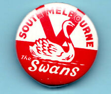 Old  Swans Football Badge 1 1/4 Inches across Nice Condition