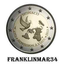 MONEDA CONMEMORATIVA DE 2 EUROS DE MONACO 2013. SIN CIRCULAR. REVALORIZACIÓN