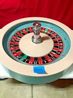Roulette Wheel 32 Inch Paulson  (Used) #T0017 Single 0 00