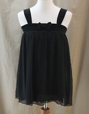 Guess Jeans, Large (14) Black Baby Doll Sleep Top