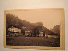 Sächsische Schweiz - Waltersdorfer Mühle - 1893 - Lichtdruck / KAB
