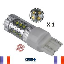 1 ampoule led T20 w21/5w 7443 veilleuse xenon feux jour anti erreur blanc auto