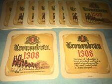 10x Kronenbrau 1308 Vintage Beermats