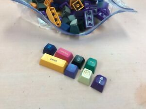 ABS doubleshot keycaps SA profile random grab bag mechanical keyboard