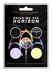 BRING ME THE HORIZON - OFFICIAL BADGE SET BUTTON-SET That´s the spirit