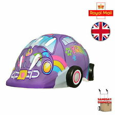 New Raskullz Transportz Luv Bug Helmet - Purple - Childrens Kids Ages 4-7yrs UK