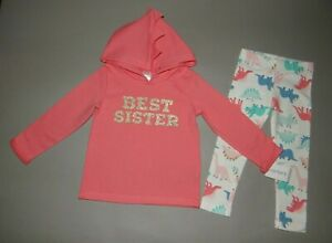 NWT, Baby girl clothes, 12 months,Carter's 2 piece set/ ~SEE DETAILS SIZE/1/2OFF