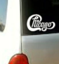 CHICAGO Sticker Decal Vinyl Rock Band Heavy Metal Music Logo Car Window Bumper