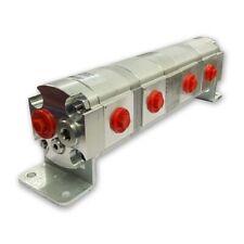 Orientée Hydraulique Flux Séparateur 4 Voie Valvule, 11cc / Rev, Avec Centre