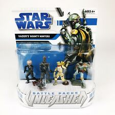 NEW 2008 Star Wars Battle Packs Unleashed Vader's Bounty Hunters