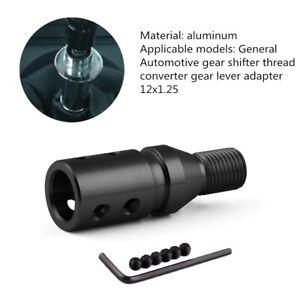 Automotive Gear Shifter Strong Thread Converter Gear Lever Adapter 12x1.25 Part
