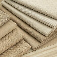 Sewing Home Decoration Textile Rough Fabric Cotton Weft Knitted Canvas Cloth New