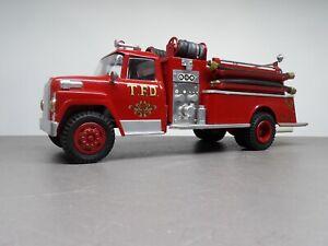 Vintage Ertl Loadstar Custom International Loadstar Fire Truck Truck 1/16 Scale