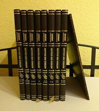 Die Abenteuer des Asterix 8 Bände + 1 Sonderband Sammelbände in Kunstleder