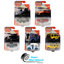 Matchbox Moving Parts 2020 New F Case 5 Cars Set Lamborghini,Buick,Truck,Ford