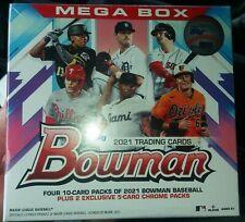 2021 Bowman Baseball Cards Mega Box With 10 Mojo Cards Per Box QTY.