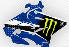 YAMAHA YZ125 2015 - 2017 Chad Reed Monster Energy Replica Graphics Kit