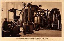 CPA  Mines Domaniales de Potasses d'Alsace - Une machine d'extraction (740218)