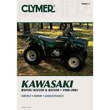 Repair Manual Kawasaki KLF220 / 250 Bayou 1988-2003