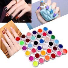 36 Farben UV Gel Set Deko Tipps Farbgel Nagelgel Pure Nail Art Farben